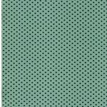 0,65 m Reststück PINDOTS Jersey mintgrün