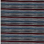 PUFFIN STRIPE Jersey dunkelblau rot weiß