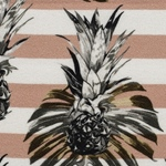 PALINA Krepp-Viskose Ananas altrosa