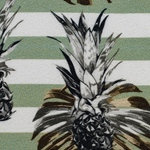 PALINA Krepp-Viskose Ananas salbei