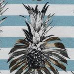 PALINA Krepp-Viskose Ananas türkis
