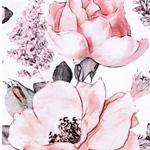 MATTI Jersey große Rosen weiß rosa