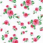 MATTI Jersey kleine Rosen weiß rosa