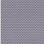 GUNNAR Webware Chevron grau weiß
