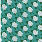 KIBORI OUGI Blumen petro weiß