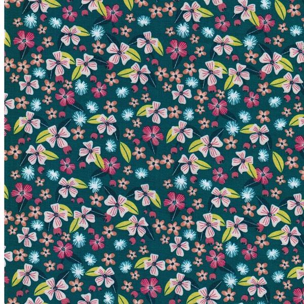 1m Rest JUNGLEMANIA Webware Blumen