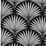 KALLE Canvas Palmwedel schwarz