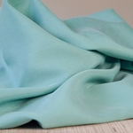 LYOCELL TWILL medium aqua