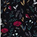 MAGICAL FAUNA MYSTIQUE Popeline Blumen