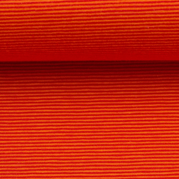 BELLA Ringeljersey orange rot