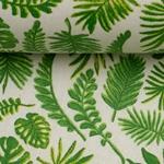 LUNA Wachstuch Blätter grün