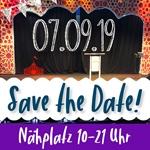 Nähplatz-Ticket 07.09.19 10-21 Uhr