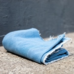 WASHED DENIM Jeans chambray blue 10 oz