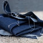 WASHED DENIM Jeans deep drk indigo 10 oz