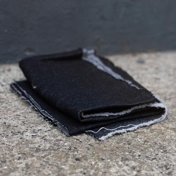 WASHED DENIM Jeans black 10 oz