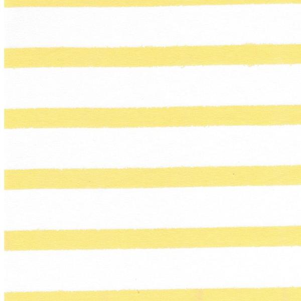 STRIPES Organic Jersey sunshine yellow