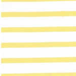 STRIPES Organic Jersey sunshine yellow