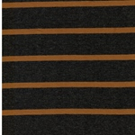 CAMPANO Jersey Streifen grau mel. ocker