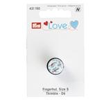 Prym LOVE Fingerhut geblümt
