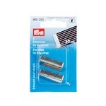 PRYM 2er Pack Endstücke für Gurtband 4cm