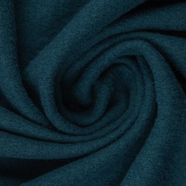 Wollwalk Schurwolle blau