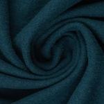 gekochte Wolle Wollwalk blau