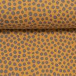 MATS Jacquard-Jersey Dots maisgelb