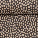 MATS Jacquard-Jersey Dots graublau apric