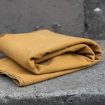 HEAVY WASHED CANVAS mustard