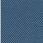 MADITA Jacquard-Jersey Kreise jeansblau
