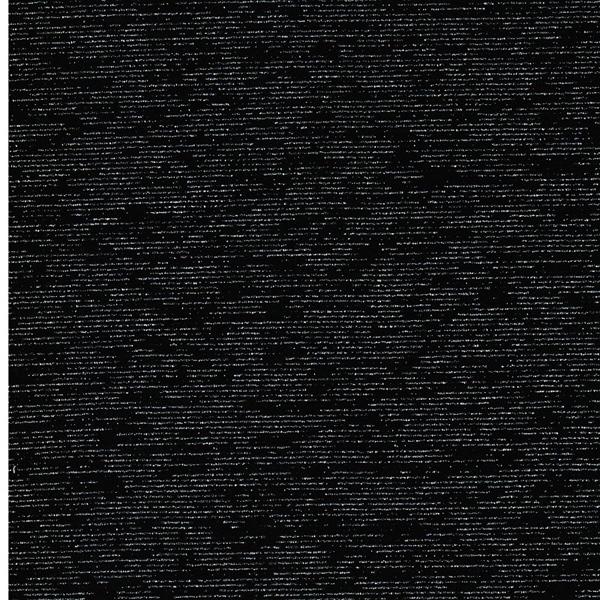 GLAMOURSWEAT Lurexstreifen schwarz