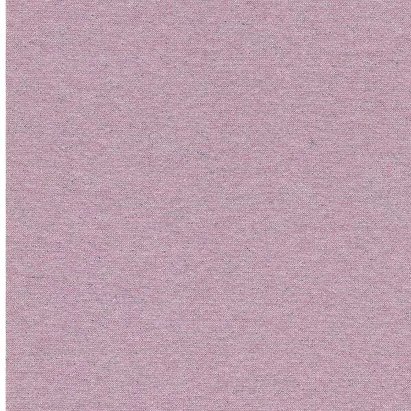 GLAMOUR Lurex-Bündchen rosa melange