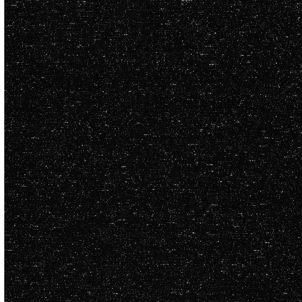 GLAMOUR Lurex-Bündchen schwarz