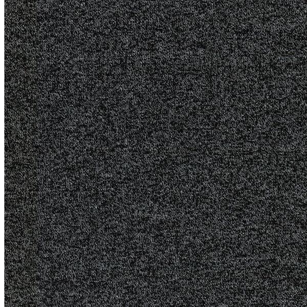 MARC Stricksweat schwarz meliert