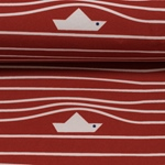 FIETE Softshell Papierboote rot