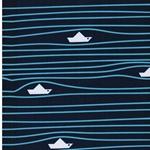 FIETE Softshell Papierboote navy