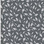 MADITA Jacquard-Jersey Blätter grau