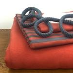 Nähpaket HUDIE terrakotta ohne Schnitt