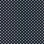 VERENA Jersey Dots nachtblau weiß