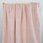 FOIL Webpelz Metallic-Sprenkel rosa
