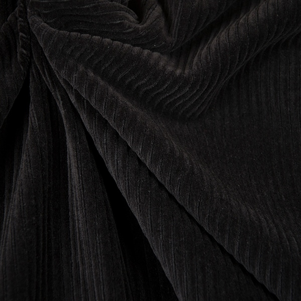 CHRIS Stretchcord Doubleface schwarz