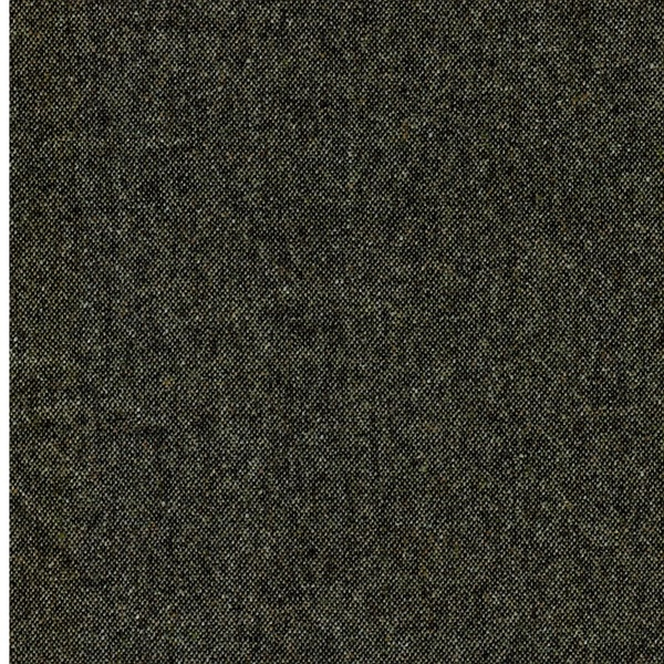 CARDIFF Tweed Salz Pfeffer schwarz grün