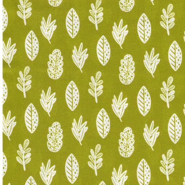 FIXED LEAVES Webware Blätter grün