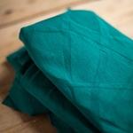 ORGANIC WAVE JACQUARD dark jade