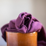 VISCOSE LUX INTERLOCK grape