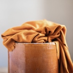 VISCOSE LUX INTERLOCK gold curry