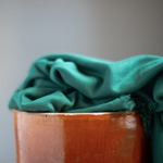 VISCOSE LUX INTERLOCK green