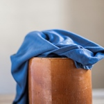 VISCOSE LUX INTERLOCK dust blue