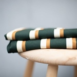 LINE FLOW VISCOSE TWILL green ochre