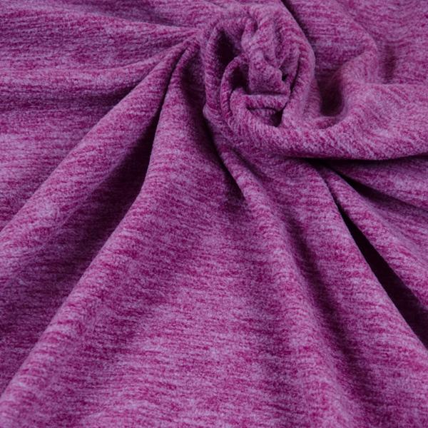 TINO leichter Fleece fuchsia meliert